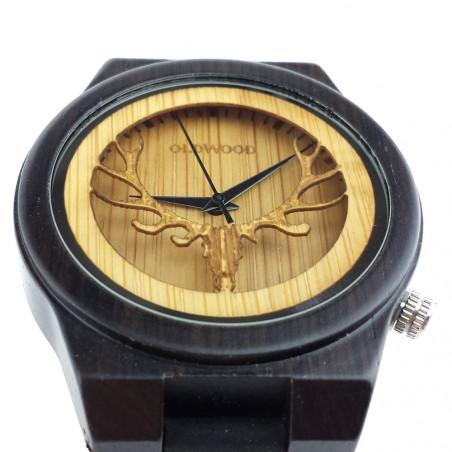 Medinis laikrodis OldWood ML05