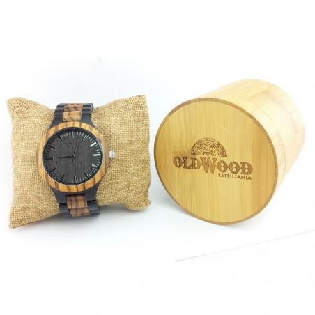 Medinis laikrodis OldWood MW07