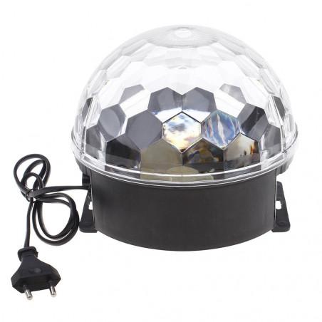 LED Disco rutulys   Šviečiantis rutulys kristalas LED
