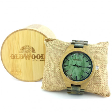 Medinis laikrodis OldWood MW11
