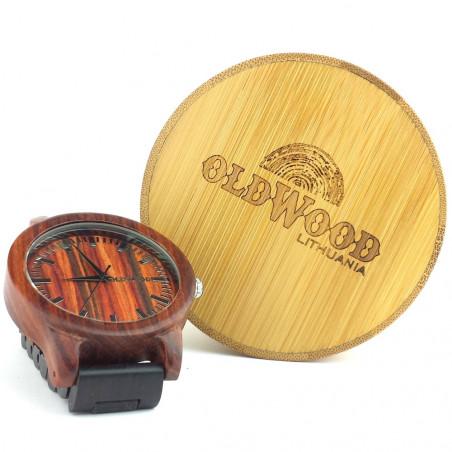 Medinis laikrodis OldWood MW21