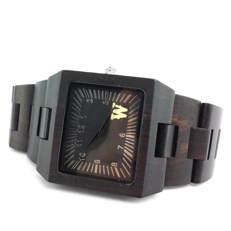 Medinis laikrodis OldWood MW18
