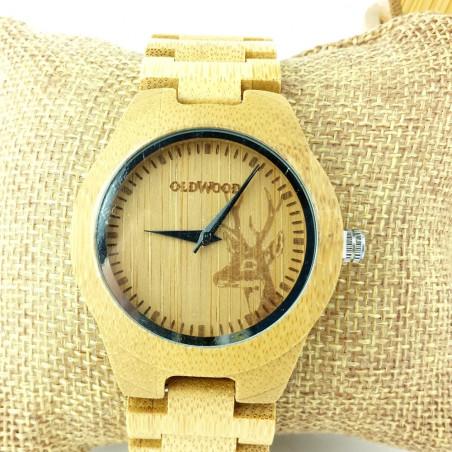 Medinis laikrodis OldWood WW31