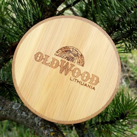 Medinis LED laikrodis OldWood MW15