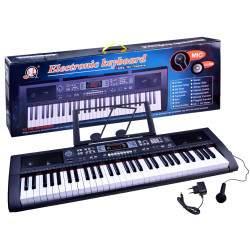 Vaikiškas pianinas su 61 klavišu ir mikrofonu 2