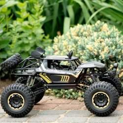 RC mašinėlė su pultu Rock Crawler Metal 1:8 2.4GHZ