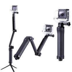 GoPro teleskopinė lazda 3-Way |Kameros laikiklis