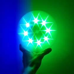 LED 3D kamuolys | Šviečiantis kamuolys Star Light M