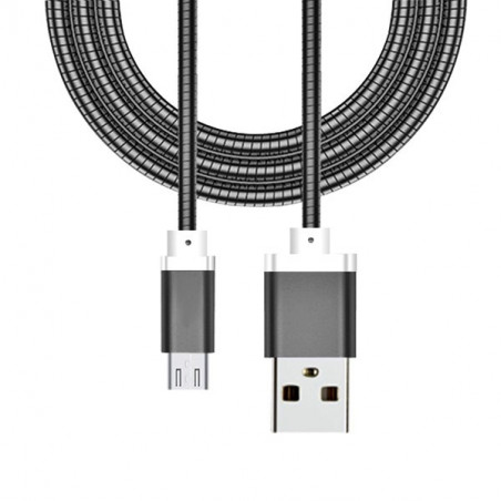 USB Lightning laidas  METAL