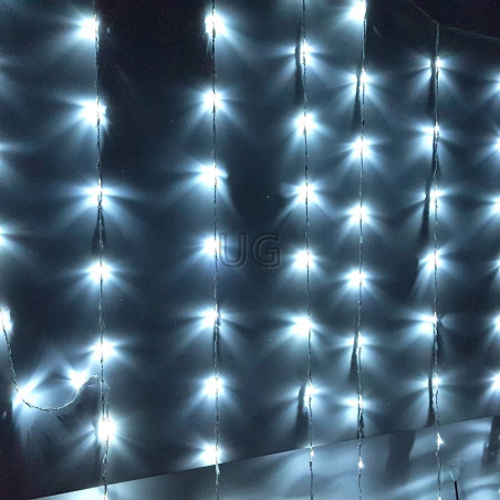 LED girlianda Užuolaida - Krioklys 400 lempučių 3 x 2