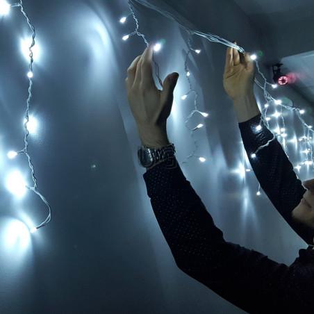 500 LED lauko girlianda varvekliai ECO CL2