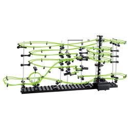 SpaceRail 3 lygio konstruktorius su fosforine vežės linija