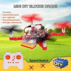 Surenkamas dronas konstruktorius