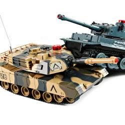 RC mašinėlė tankas POWER KING