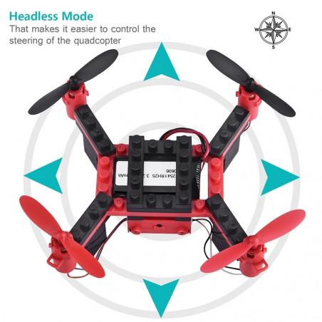 Surenkamas dronas  konstruktorius su WIFI