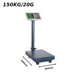 Platforminės svarstyklės 1501BMM (150 kg, 50x40)