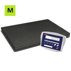 Platforminės svarstyklės 1215MP-15 su metrologine patikra | 1500 kg