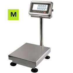 Platforminės svarstyklės DA-150-MP su metrologine patikra