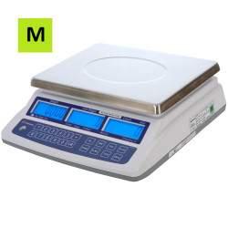 Vienetus skaičiuojančios svarstyklės VS-15-MP su metrologine patikra