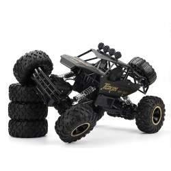 RC mašinėlė su pultu Rock Crawler Alloy Material 1:12 4WD