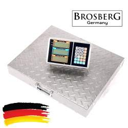 Belaidės platforminės svarstyklės BROSBERG P600W