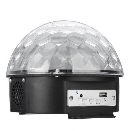 LED Disco rutulys su MP3 grotuvu   Šviečiantis rutulys kristalas MP3 LED