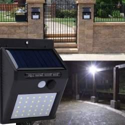 Šviestuvas su saulės baterija L20