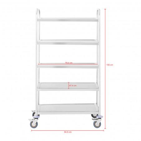 Serviravimo vežimėlis - RCSW 5 - 480 kg