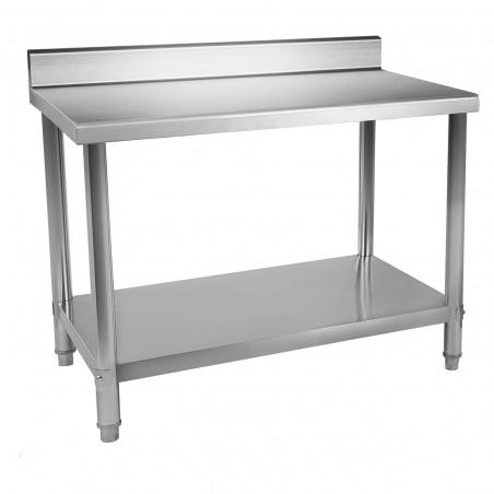 Nerūdijančio plieno darbo stalas RCAT-120/60-S 120x60 cm