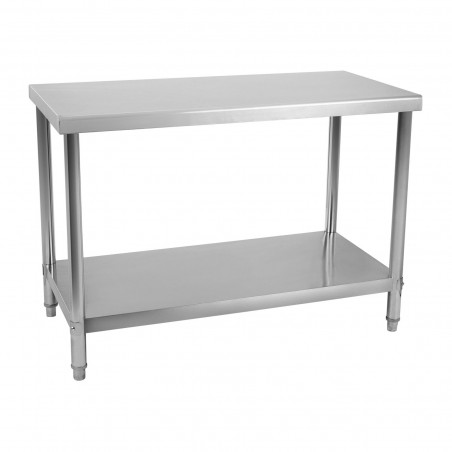 Nerūdijančio plieno darbo stalas RCAT-120/60 120x60 cm