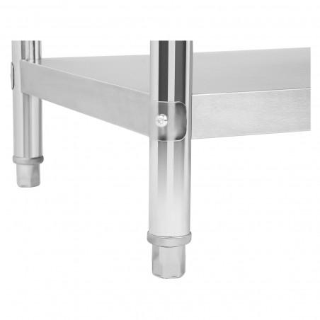 Nerūdijančio plieno darbo stalas RCAT-100/60 100x60 cm