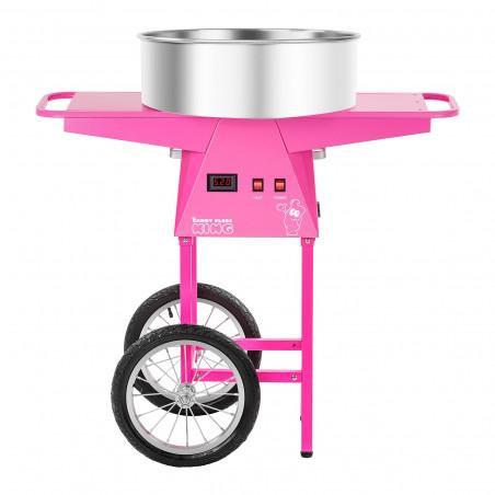 Cukraus vatos gaminimo aparatas su vežimėliu Royal RCZC-1030-W