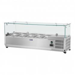 Vitrininis šaldytuvas - Royal Catering - 120 x 33 cm