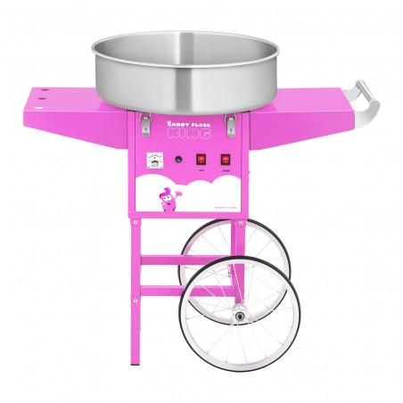 Maszyna do waty cukrowej - 52 cm - aluminiowe koła