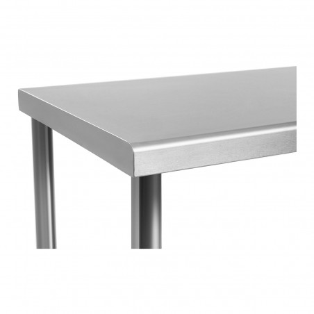 Darbo stalas - 120 x 60 cm - nerūdijantis plienas