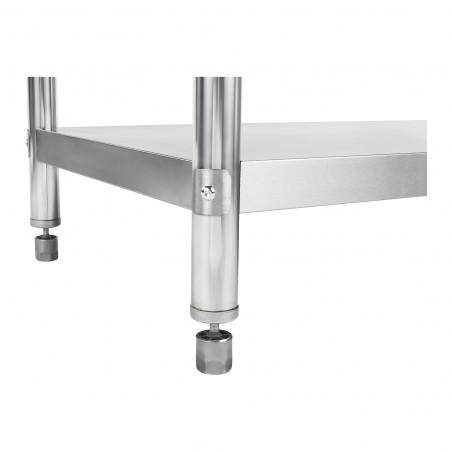 Darbo stalas - 150 x 60 cm - nerūdijantis plienas
