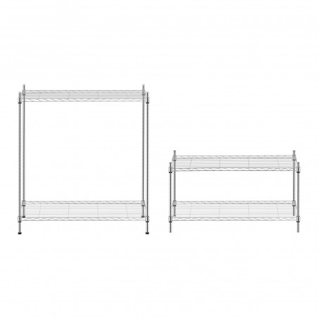 Metalinė sandėliavimo lentyna - 350 x 900 x 1370 mm
