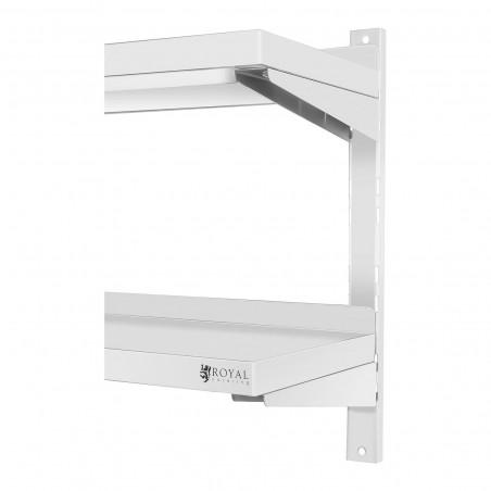 Nerūdijančio plieno lentyna RCWR-1600.4 40x160 cm
