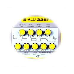 Suvirinimo aparatas S-ALU 225PH AC / DC  TIG AC/DC  225 A - 230 V