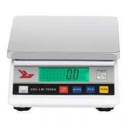 Laboratorinės svarstyklės Steinberg Systems SBS-LW-7500A LCD 7,5KG, padalos vertė 0,1G