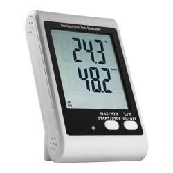 Temperatūros ir drėgnumo duomenų kaupiklis su ekranu SBS-DL-123L