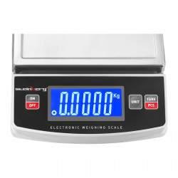 Graminės svarstyklės - 600 g / 0,1 g - LCD
