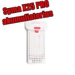 Drono Syma X25 PRO akumuliatorius