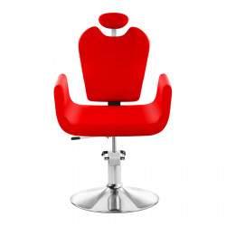 Kirpyklos kėdė Physa Livorno raudona