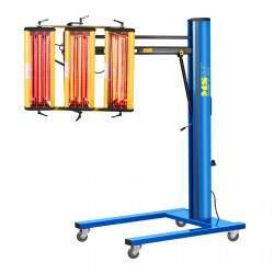 Infraraudonųjų spindulių šildytuvas dažams džiovinti 3300 W