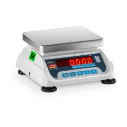 Svarstyklės LED06T - Su kalibracijos sertifikatu   6 kg / 2g