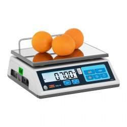 Svarstyklės TTB015D - Su kalibracijos sertifikatu   15 kg / 5 g