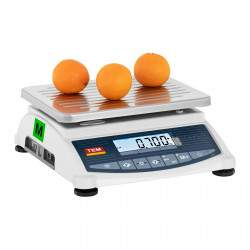 Svarstyklės TTB060D - Su kalibracijos sertifikatu   60 kg / 10 g