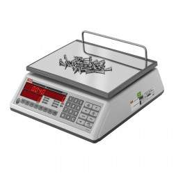 Prekybinės svarstyklės su metrologine patikra - 15 kg / 5 g