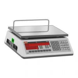 Prekybinės svarstyklės su metrologine patikra - 30 kg / 10 g
